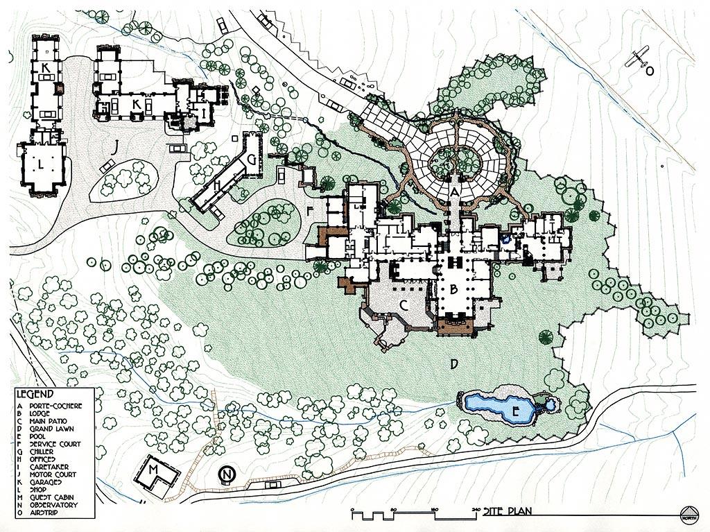 Sleeping Indian Lodge   Ewing Architects