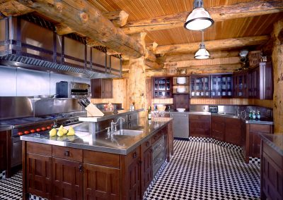 Shining Mountain Ranch Interior Kitchen
