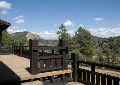 Dos Rios Ranch Deck
