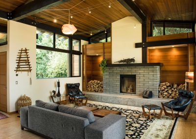 Hale Residence Living Room