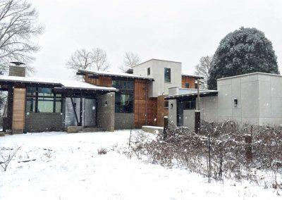 Hale Residence Winter Fron