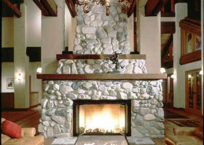 Middle Ranch Fireplace