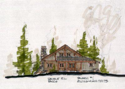 Ralph Lauren Ranch Elevation Front