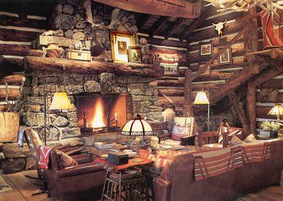 Ralph Lauren Ranch Interior