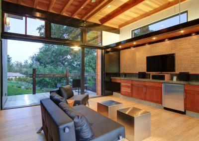 Walker Residence Den