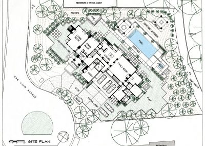 Hsu Gutcho Residence Site Plan