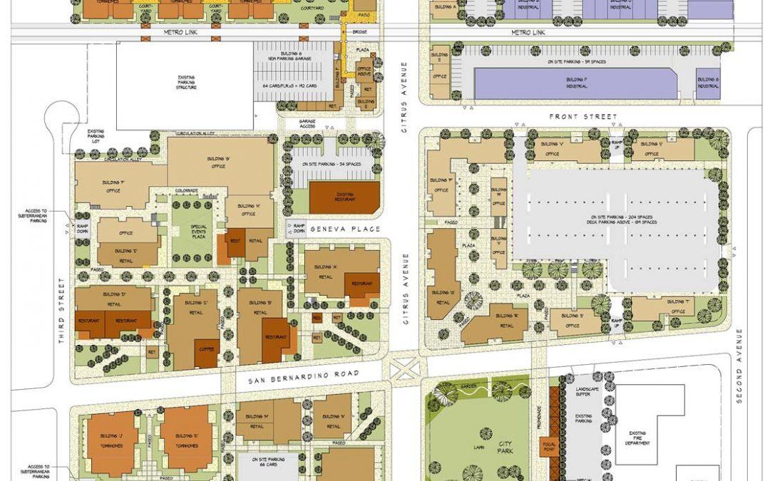Covina Downtown Redevelopment MPCovina, CA