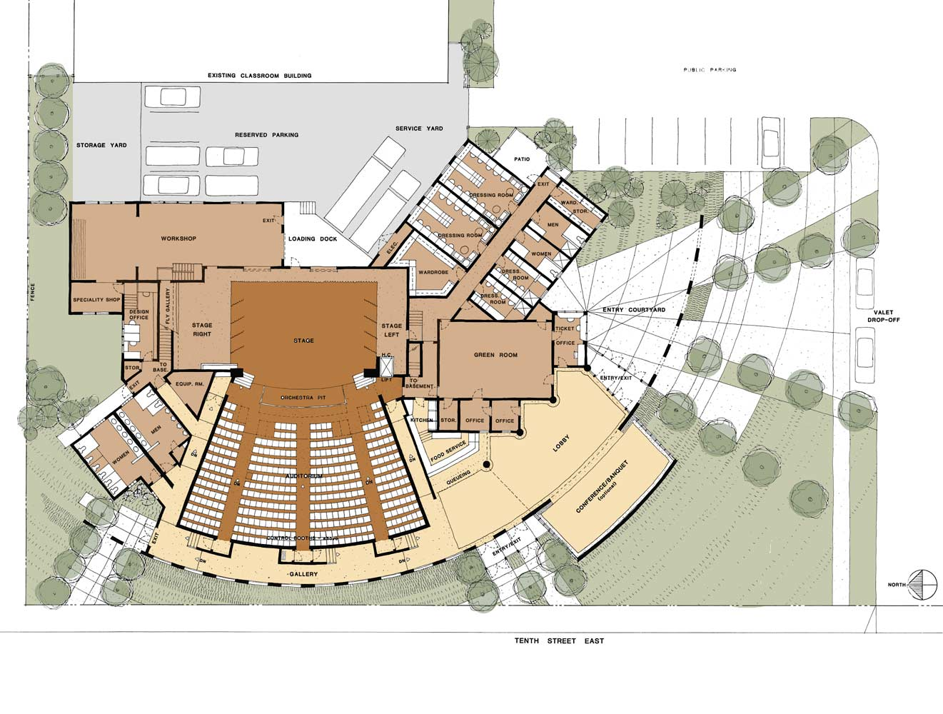 Palmdale Civic Centerpalmdale Ca Ewing Architects