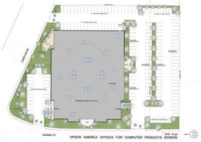 EPSON Site plan