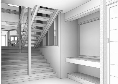 Hale Residence Stairs