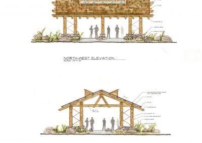 Pavilion Elevations