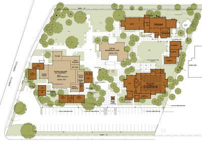 Neighborhood-Church-PRESENTATION-Site-Plan-A1