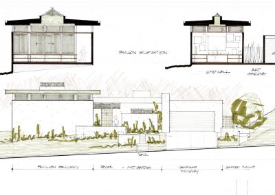 Darby Residence Elevations Sections