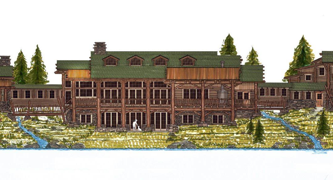 Northern Minnesota Lake Lodge